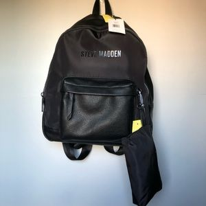 NWT Steve Madden Book bag With Pencil Pouch
